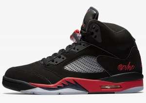 Air Jordan 5经典黑红配色热门新闻